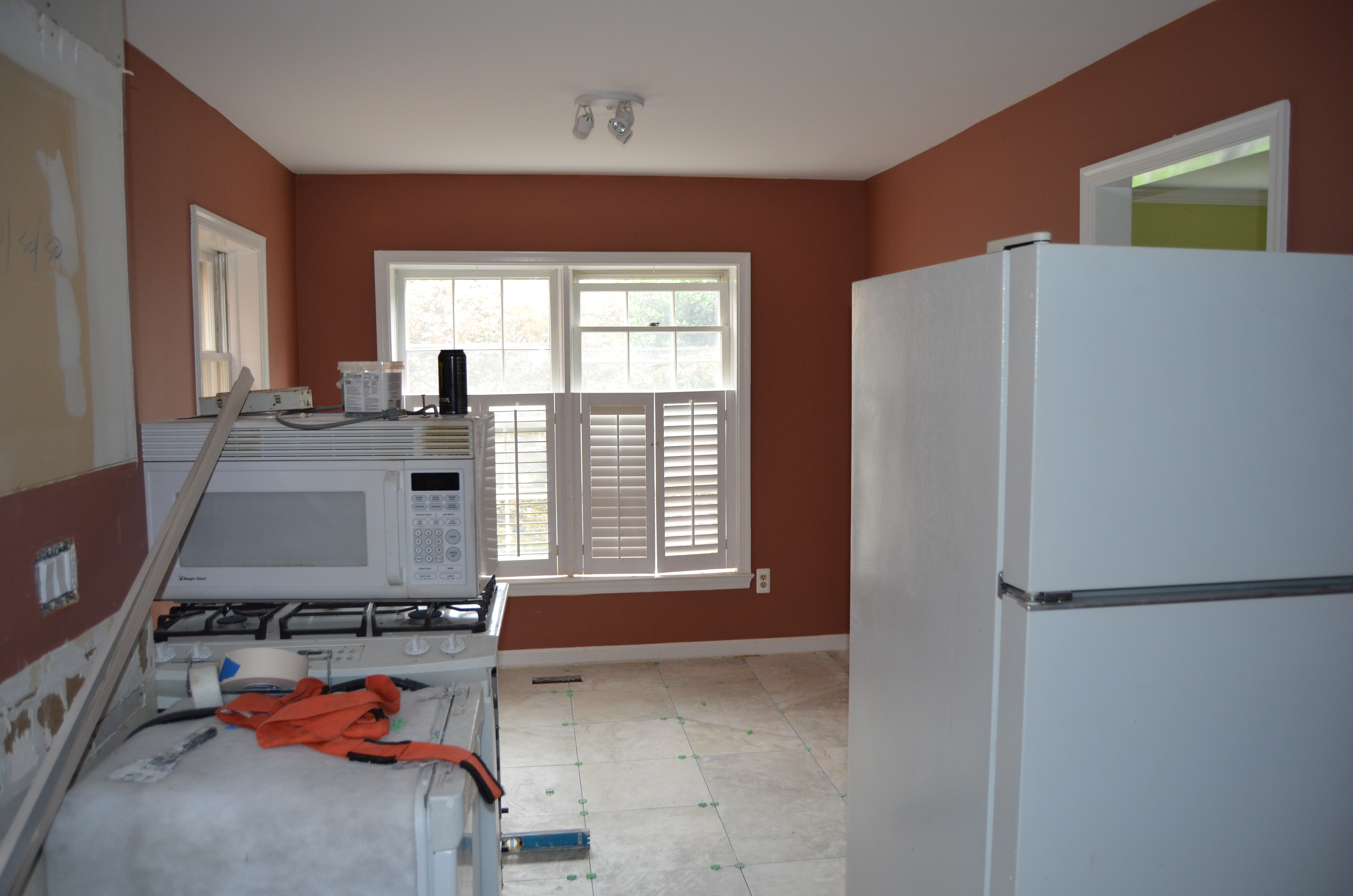 Kitchen Remodel When To Paint Walls