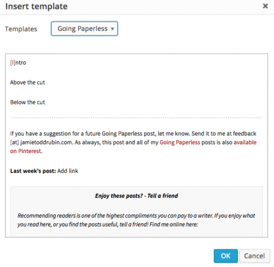 how to add hyperlink to paperless post