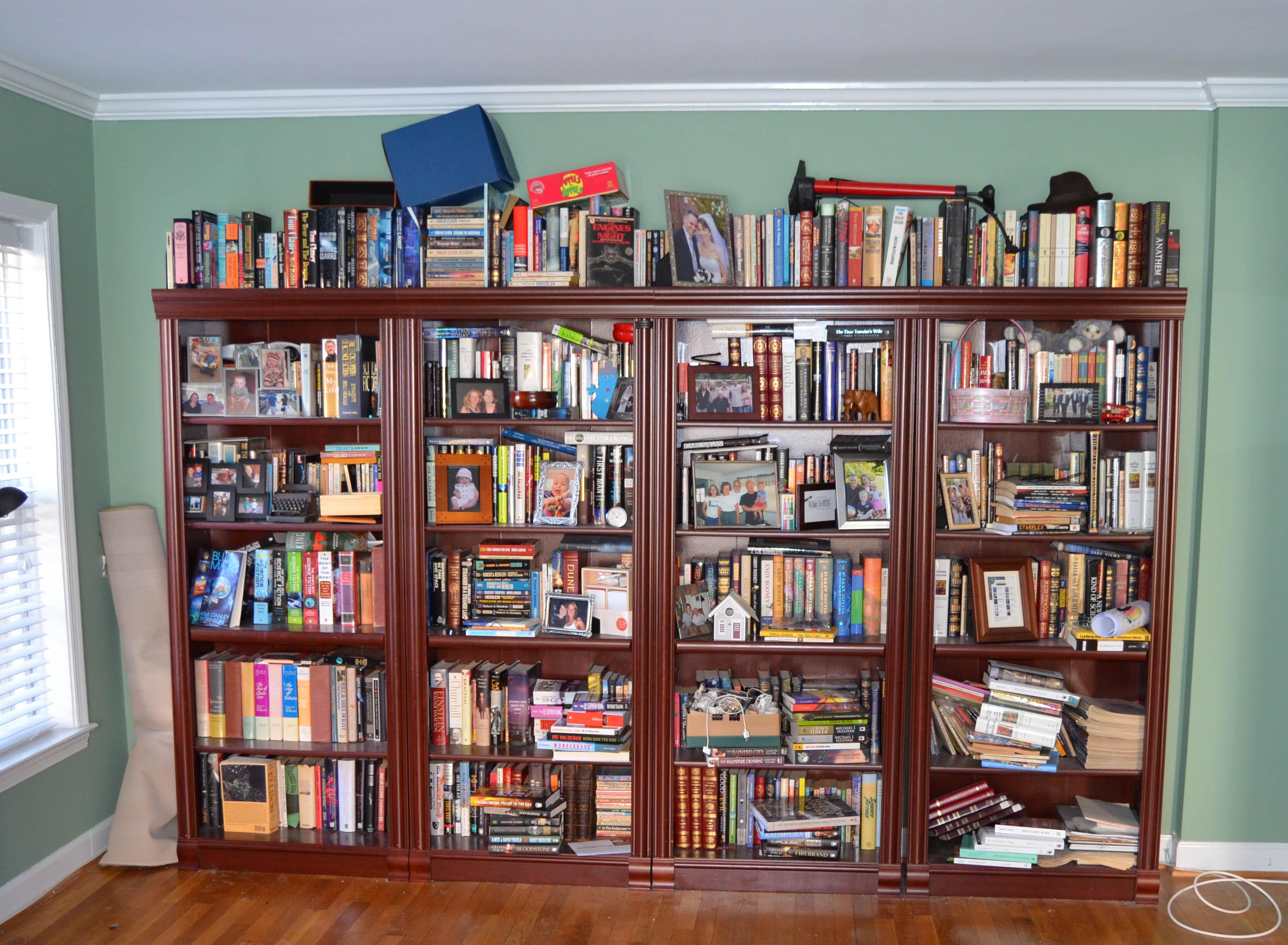 Bookshelves Jamie Todd Rubin