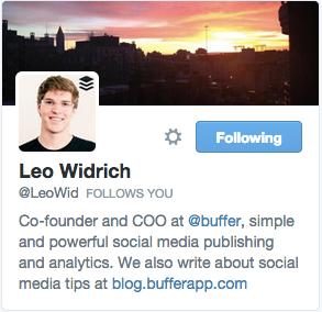 Leo Widrich