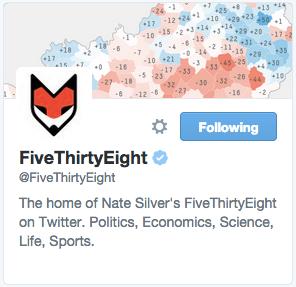 FiveThirtyEight on Twitter