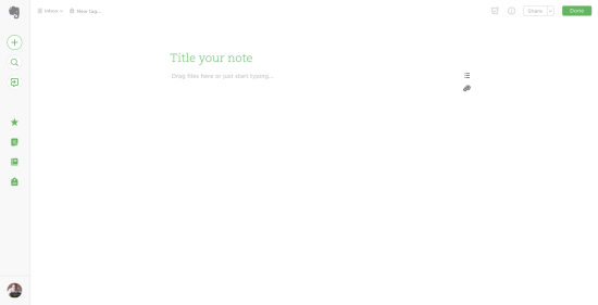 Distraction-Free Evernote